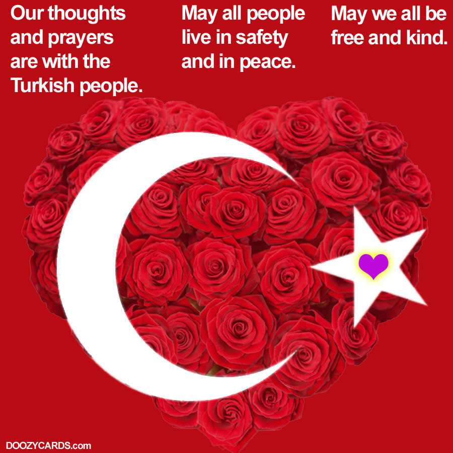 Thoughts and Prayers for Turkey