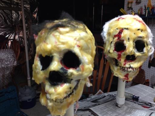 """Skulls """"under construction"""""""