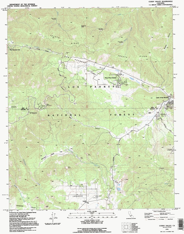 Cuddy Valley Map download link