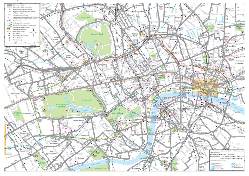 A Map Of London England.London England Mojo Map Company Avenza Maps