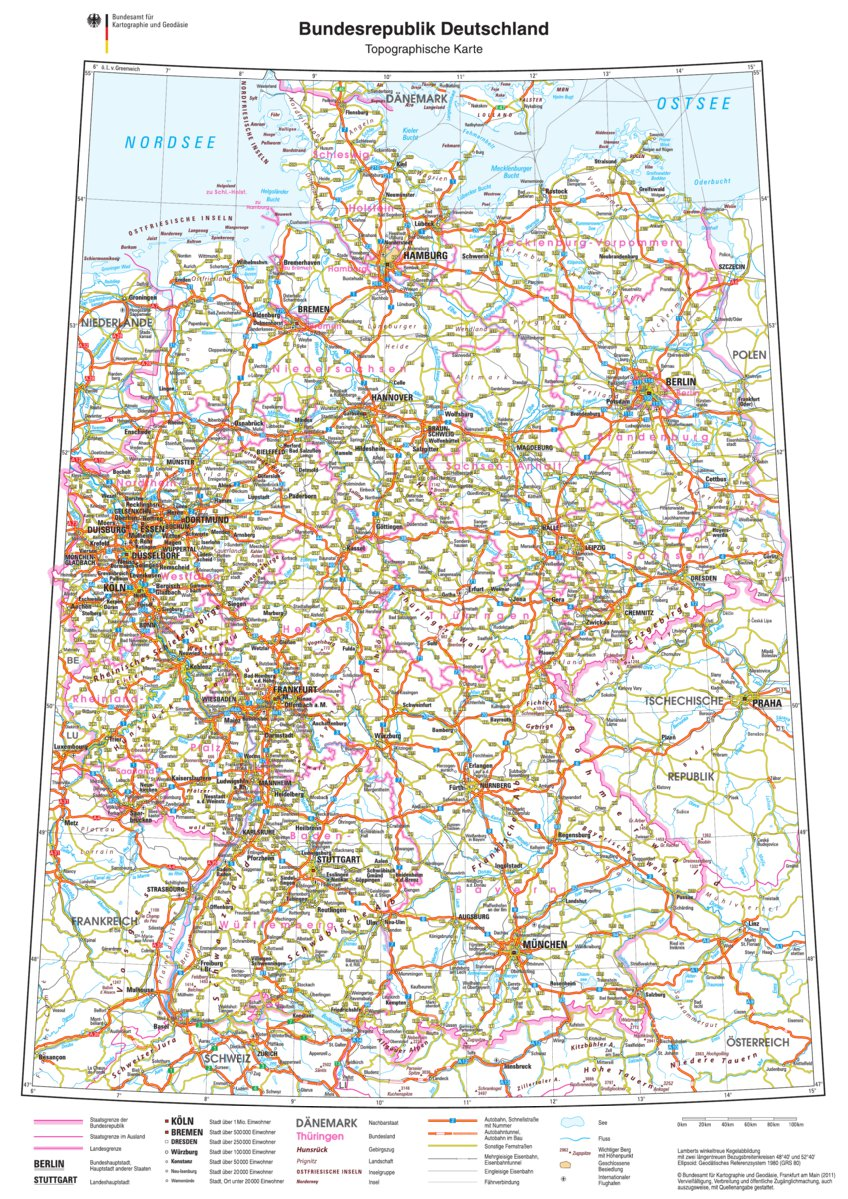 Bundesrepublik Deutschland Germany Avenza Systems Inc