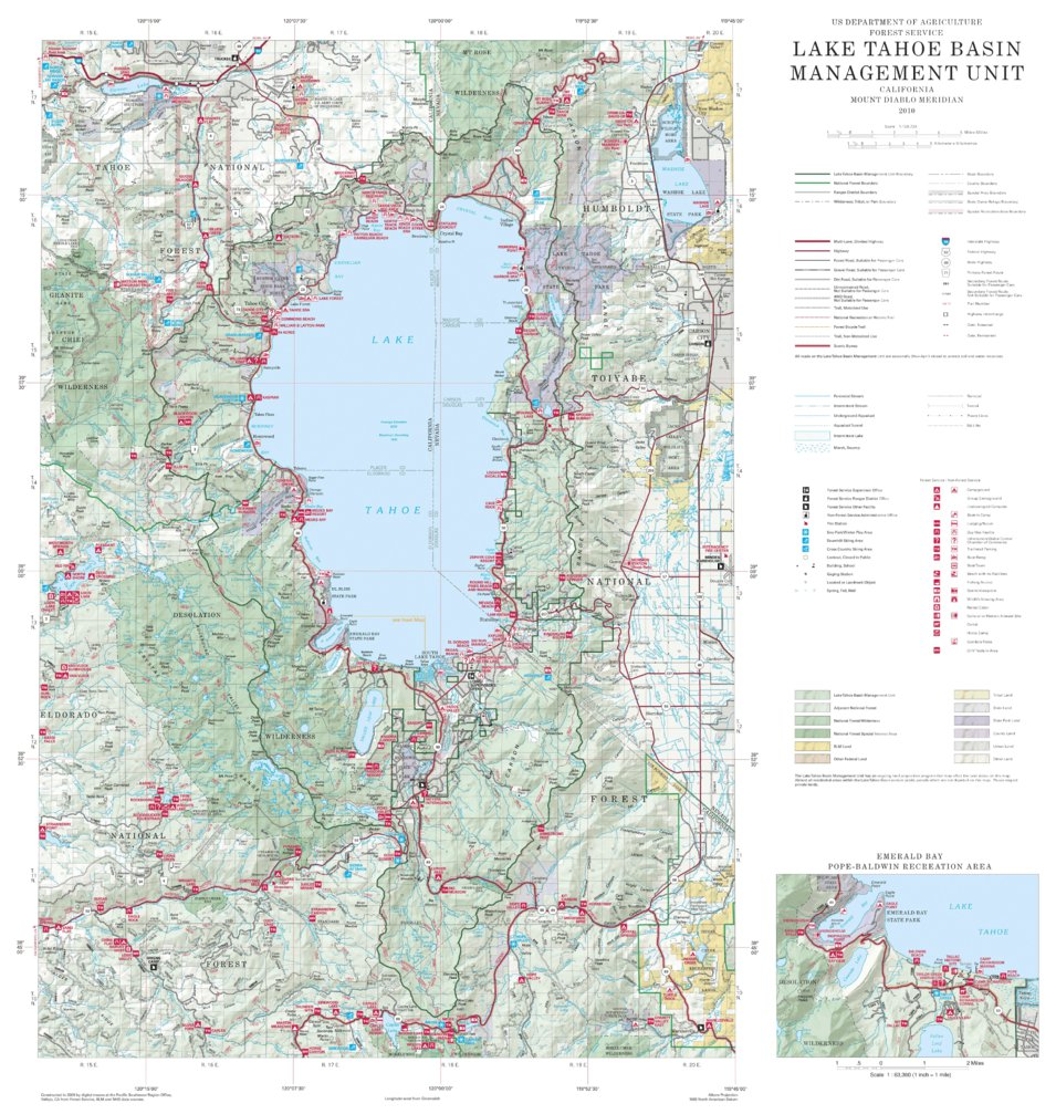 Lake Tahoe Basin Management Unit - US Forest Service R5 ... on squaw valley map, lake berryessa map, lake winnebago map, lake toho map, virginia city map, salt lake map, grand canyon map, truckee river map, lake taho, lopez lake map, united states map, rocky mountains map, california map, carson city map, san bernardino mountains map, pyramid lake map, lakes in arizona map, los angeles map, mammoth lakes map, nevada map,
