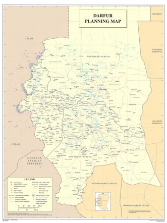 Darfur Planning Map - Avenza Systems Inc. - Avenza Maps on