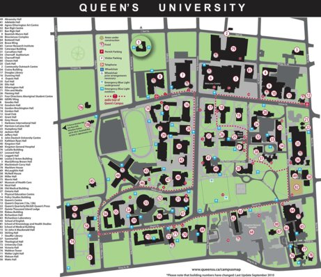 Queen's University Campus Map   Avenza Systems Inc.   Avenza Maps