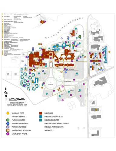 Brock University Campus Map Brock University Campus Map   Avenza Systems Inc.   Avenza Maps