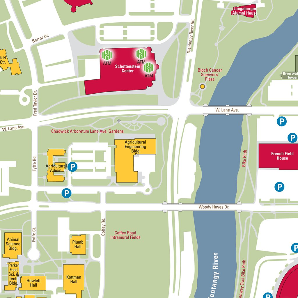 Ohio State University Campus Map Avenza Systems Inc Avenza Maps