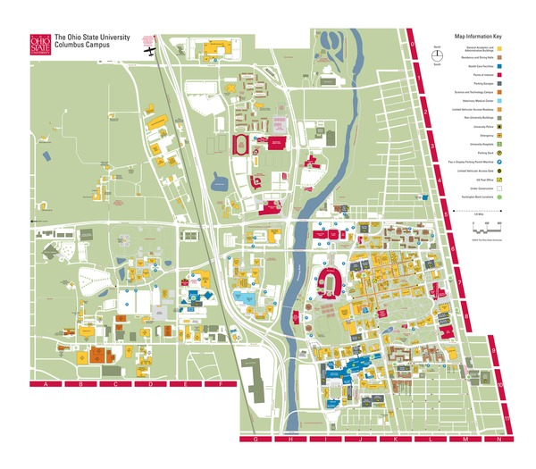 Campus Map Osu | compressportnederland