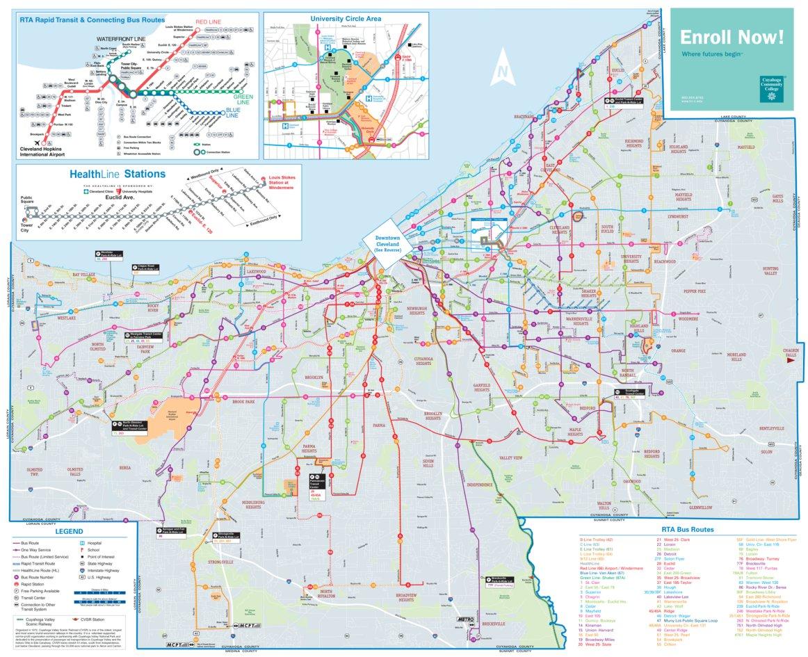 RTA Cuyahoga County Transit - Avenza Systems Inc. - Avenza Maps