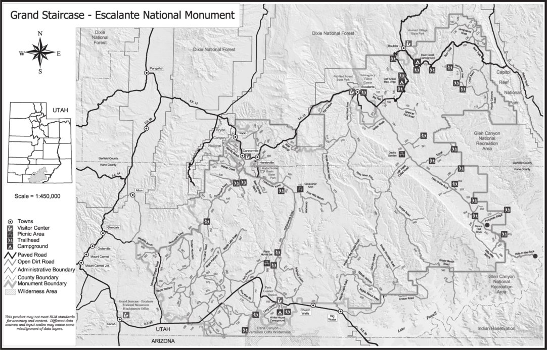 Grand Staircase Escalante National Monument Avenza Systems Inc