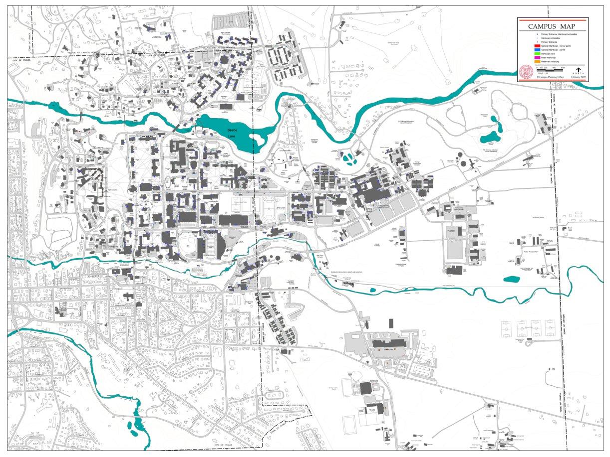 Cornell University - Avenza Systems Inc. - Avenza Maps