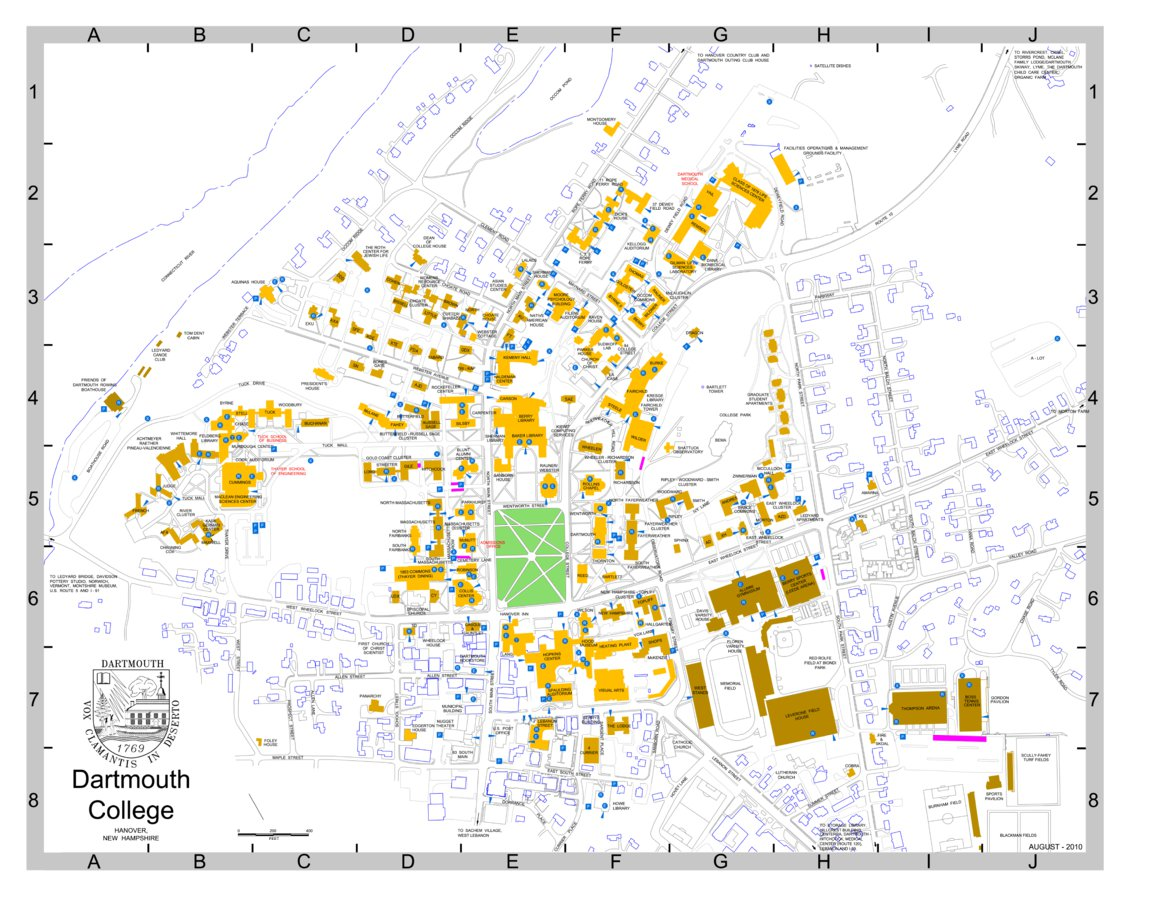 Dartmouth College Campus - Avenza Systems Inc. - Avenza Maps on
