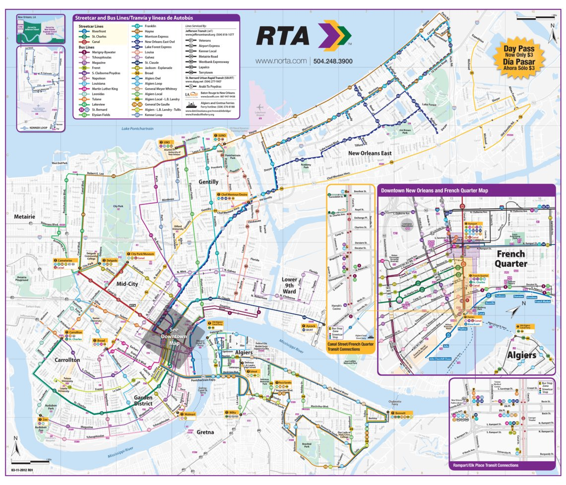 New Orleans Transit Avenza Systems Inc Avenza Maps