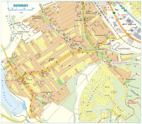 Biatorbagy City Map Varosterkep Szarvas Andras Private
