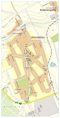 jánosháza térkép Jánosháza city map, várostérkép   Szarvas András private  jánosháza térkép