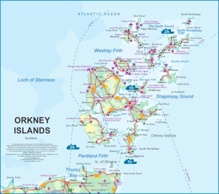 Orkney Islands, Scotland - ITMB - ITMB Publishing Ltd. - Avenza Maps