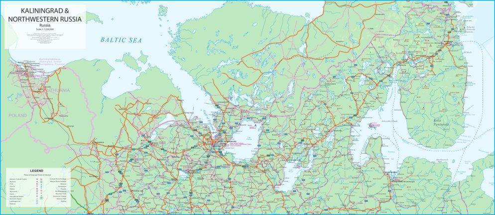 Kaliningrad And Northwest Russia Itmb Itmb Publishing Ltd