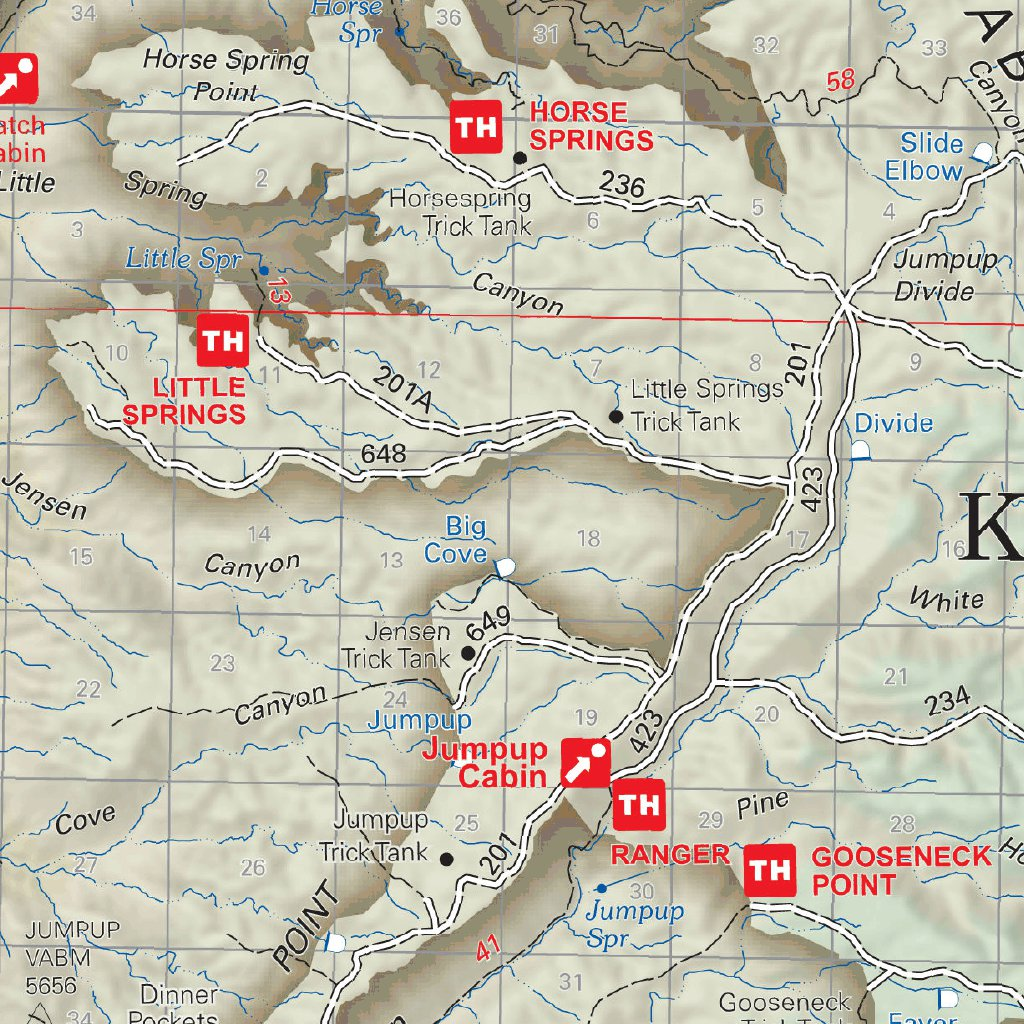Kaibab National Forest Visitor Map North Kaibab Ranger