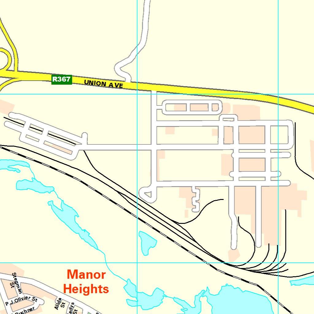 Port Elizabeth StreetMap Uitenhage MapStudio Avenza Maps