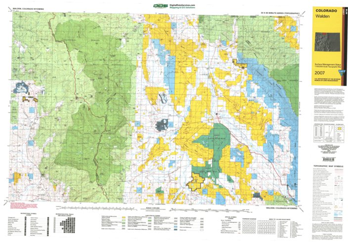 Walden Co Blm Surface Mgmt Digital Data Services Inc
