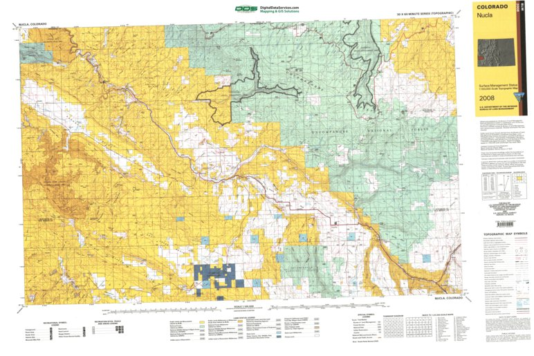 Nucla Co Blm Surface Mgmt Digital Data Services Inc Avenza