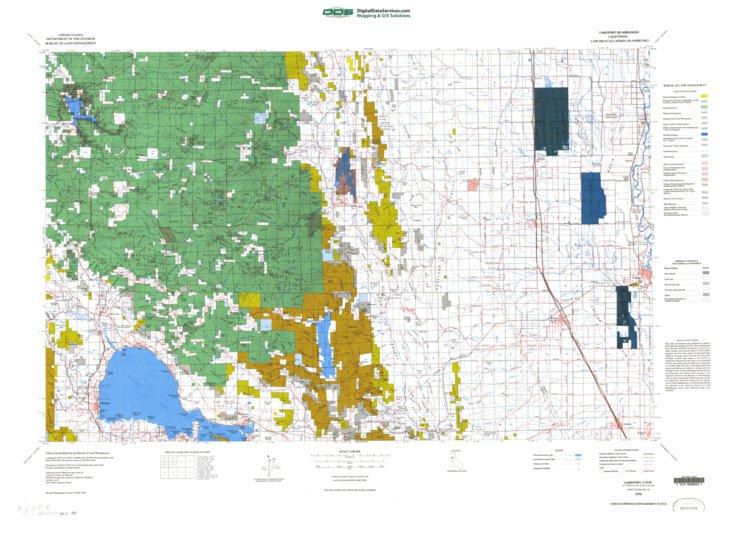 Lakeport Ca Blm Minerals Mgmt Digital Data Services Inc