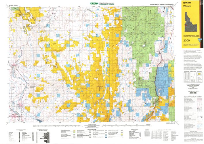 Weiser Id Blm Surface Mgmt Digital Data Services Inc