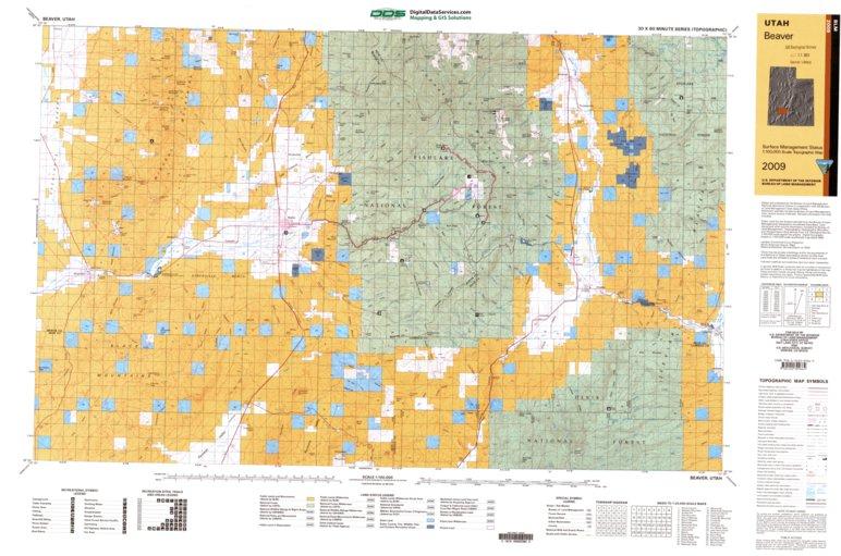 Beaver, UT - BLM Surface Mgmt. - Digital Data Services, Inc ...