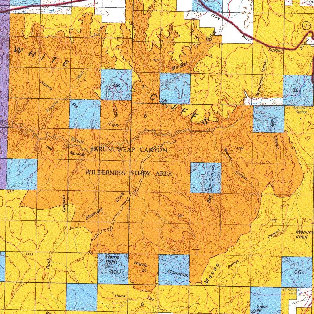Kanab, UT - BLM Surface Mgmt. - Digital Data Services, Inc. - Avenza ...