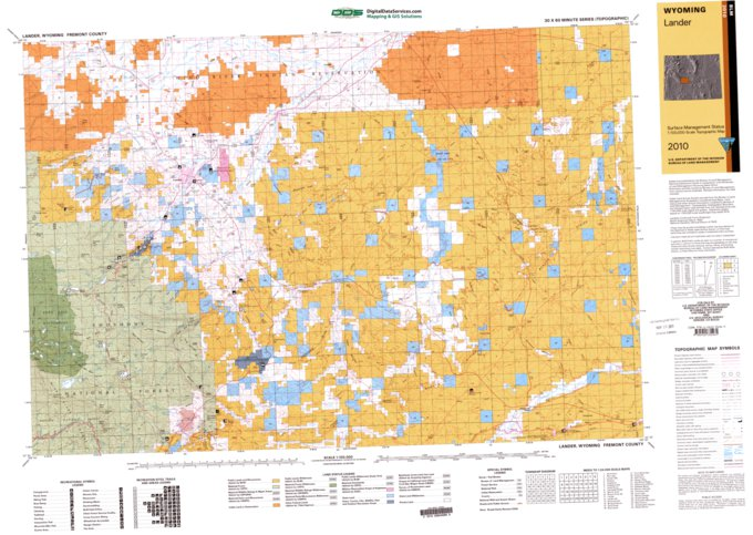 Lander Wy Blm Surface Mgmt Digital Data Services Inc