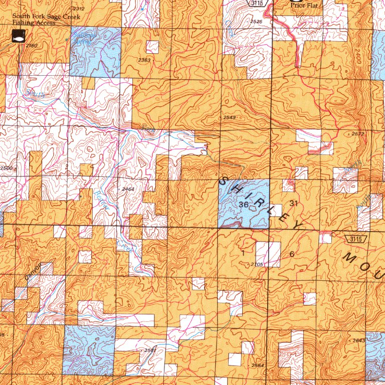 Shirley Basin Wy Blm Surface Mgmt Digital Data Services Inc