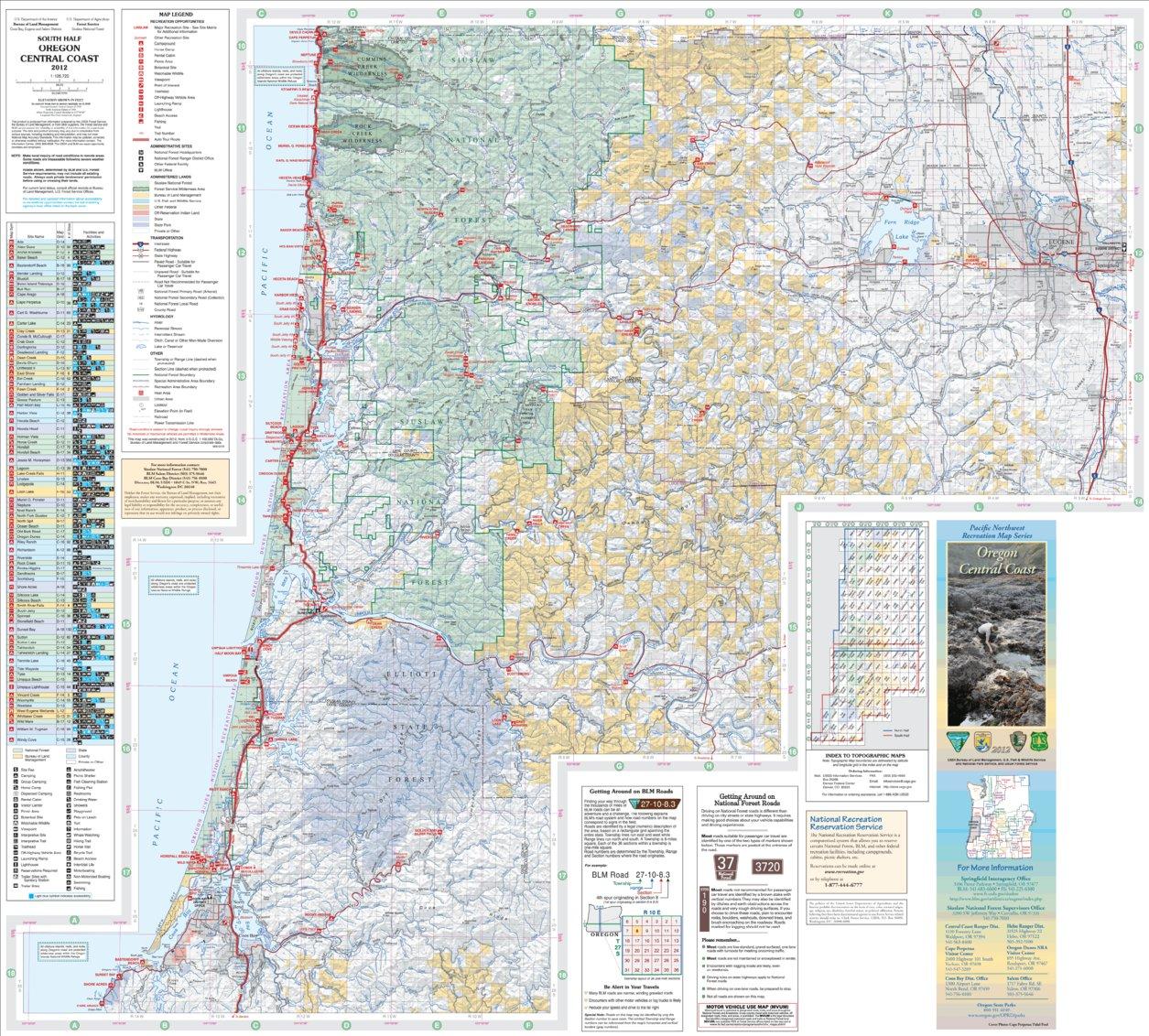 Avenza Maps - Map of south oregon
