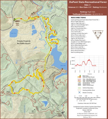 Dupont ride high falls parking area pisgah map company llc preview and coverage gumiabroncs Choice Image