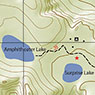 Amphitheater Lake Trail Map