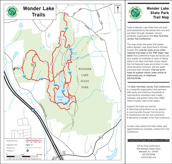 Wonder Lake State Park, NY - New York-New Jersey Trail Conference ...