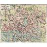 Hamburg and Altona City Map, 1912
