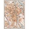 Augsburg City Map, 1909