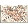 Angoulême City Map, 1902