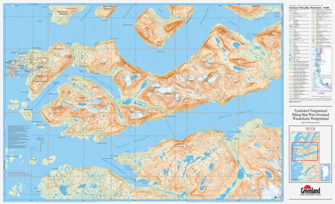 Nuuk 75000 - Compukort - Avenza Maps