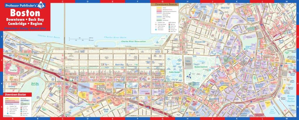 Downtown Boston - Hedberg Maps, Inc. - Avenza Maps