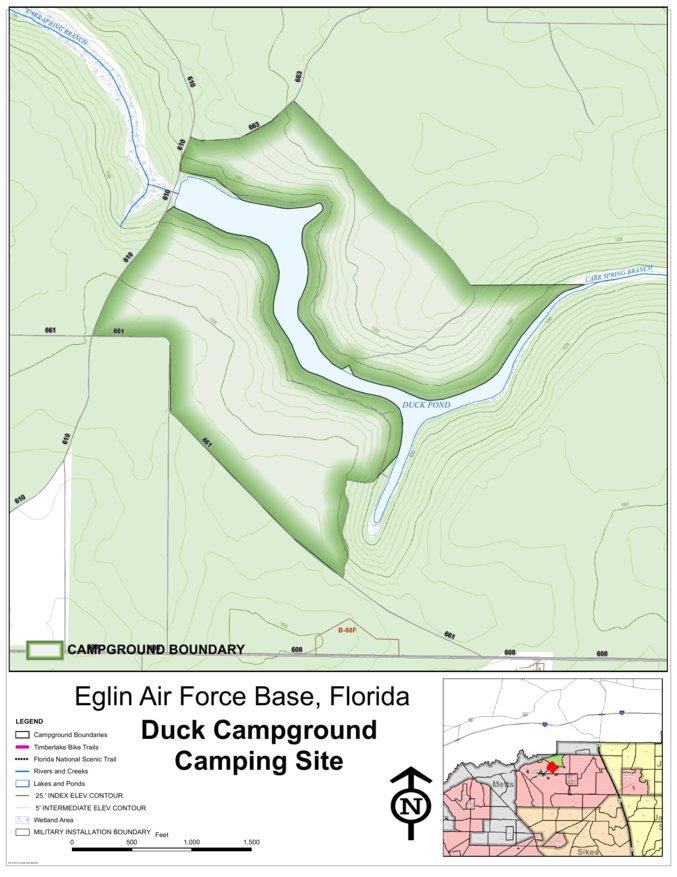 Eglin Afb Camping Duck Pond Eglin Air Force Base Avenza Maps