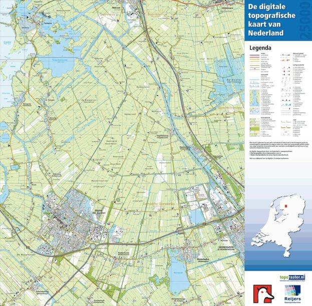 11 C Joure Heerenveen Red Geographics Reijers Kaartproducties