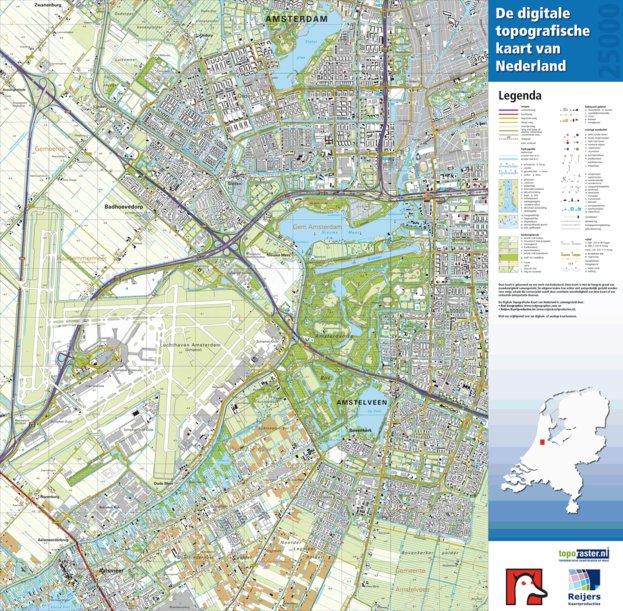 25 D Amsterdam Amstelveen Red Geographics Reijers