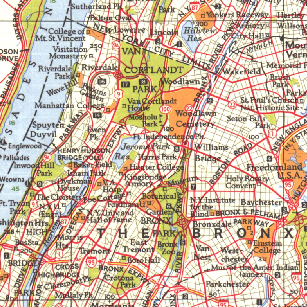 Map Of Greater New York City.Greater New York Map 1964 National Geographic Avenza Maps