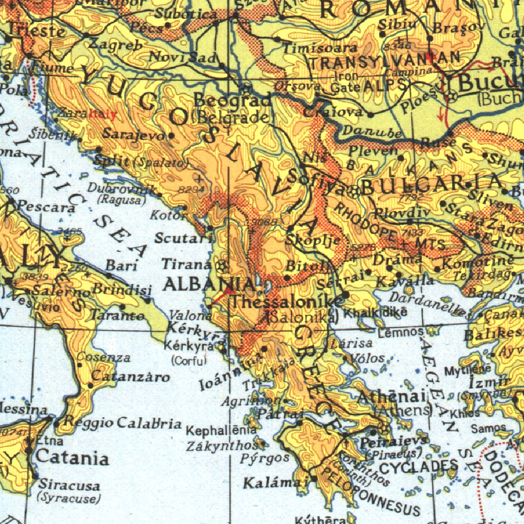 Map Of Africa Asia And Europe.Theater Of War In Europe Africa Western Asia National Geographic