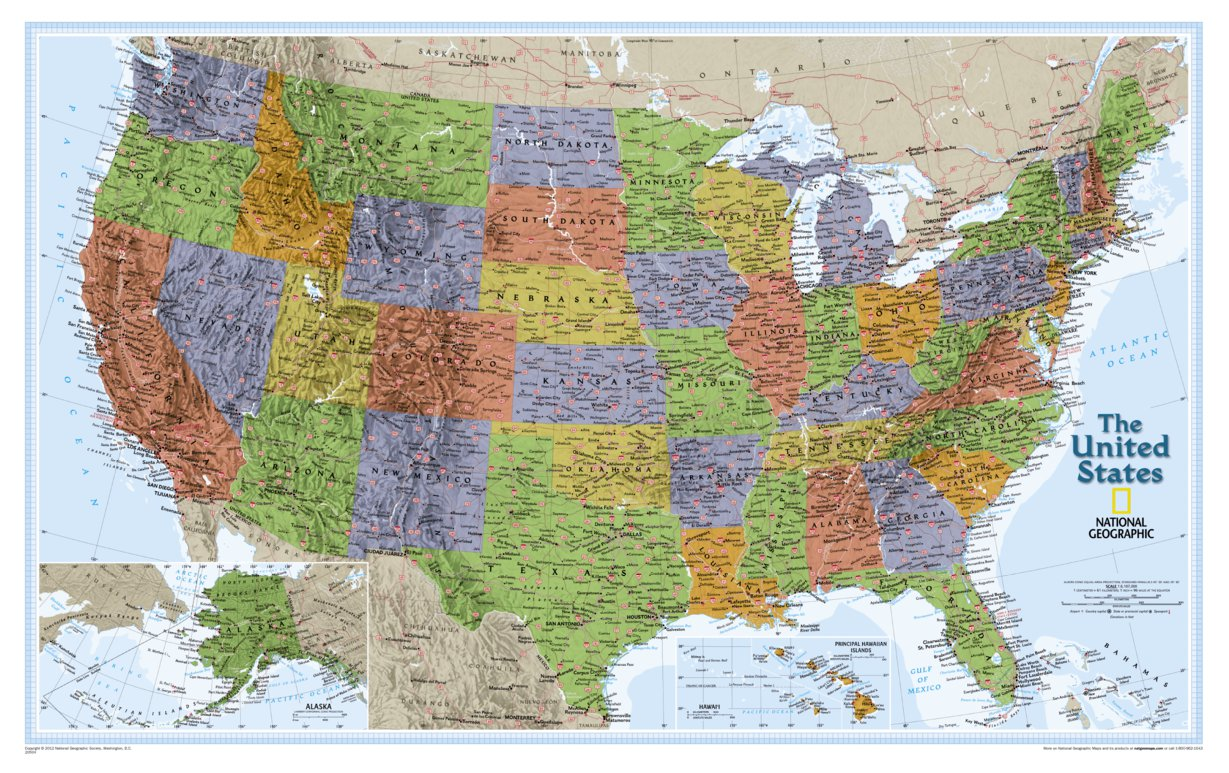 Picture of: United States Explorer National Geographic Avenza Maps