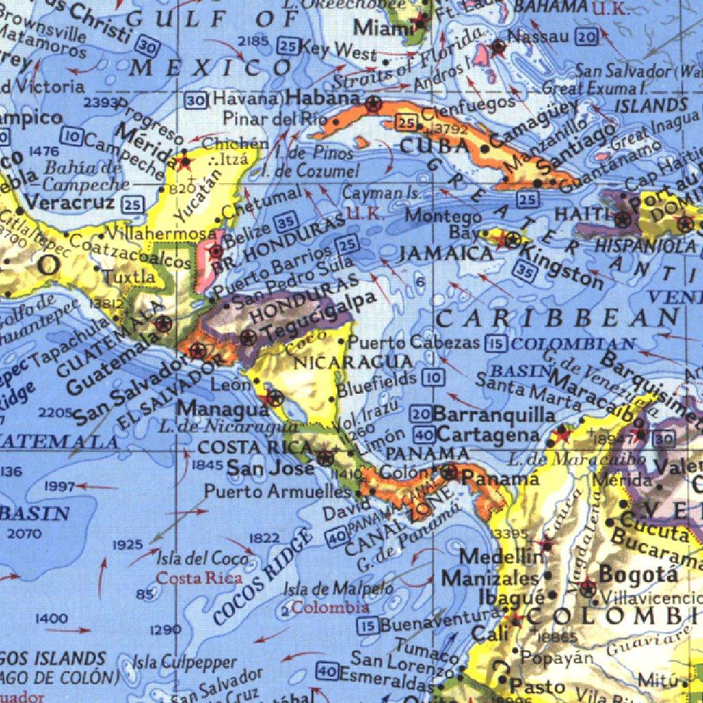 World 1965 - National Geographic - Avenza Maps