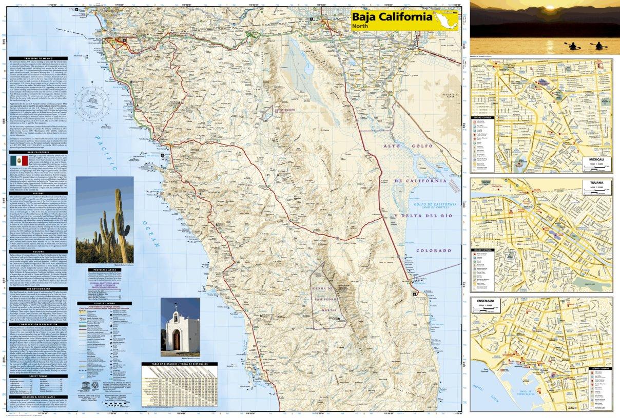 3103 :: Baja North: Baja California [Mexico] - National Geographic ...