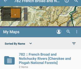 Organize Maps with Folders and Collections