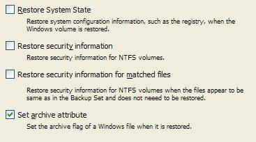 Retrospect: Manual do Usuário do Windows > Gestão