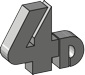 4D Konsult Göteborg logo